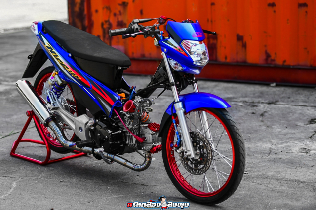 Honda Nice 125 do ngau vo doi cua vi chu nhan thich bay bong - 29