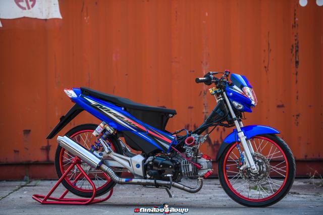 Honda Nice 125 do ngau vo doi cua vi chu nhan thich bay bong - 30