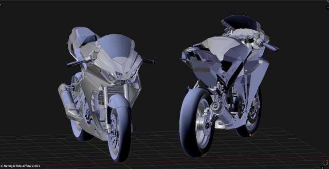 Lo dien hinh anh 3D cua Yamaha R3 2022 ngau khong tuong - 3