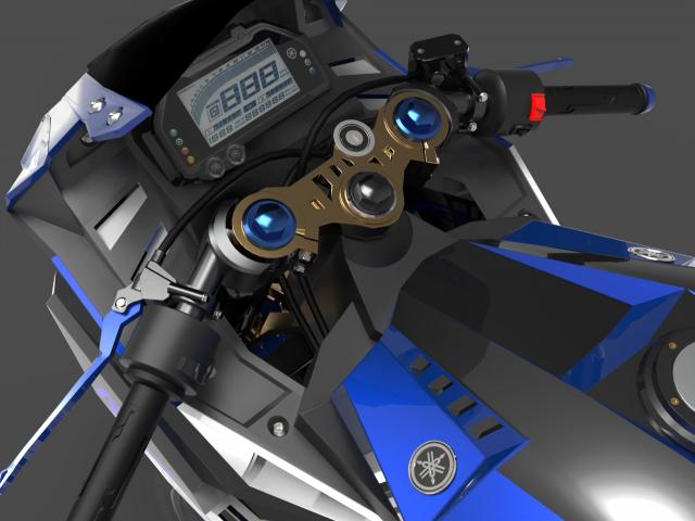 Lo dien hinh anh 3D cua Yamaha R3 2022 ngau khong tuong - 7