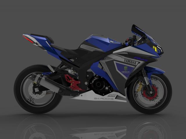 Lo dien hinh anh 3D cua Yamaha R3 2022 ngau khong tuong - 9