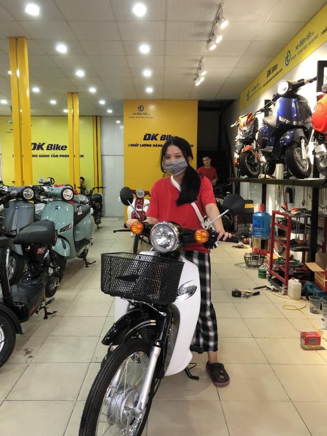 Mau Xe Ga 50cc Roma SX dep long lanh cop sieu rong co gi an tuong - 6