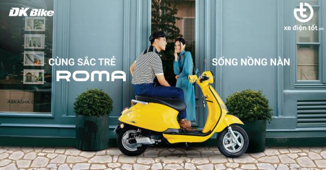 Mau Xe Ga 50cc Roma SX dep long lanh cop sieu rong co gi an tuong - 14