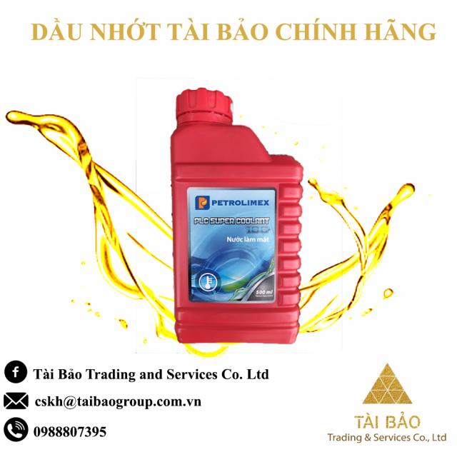 Nuoc lam mat Petrolimex PLC Super Coolant 100 Chinh Hang binh 500ml