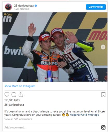 Dong doi va doi thu da noi gi khi hay tin Valentino Rossi giai nghe - 7