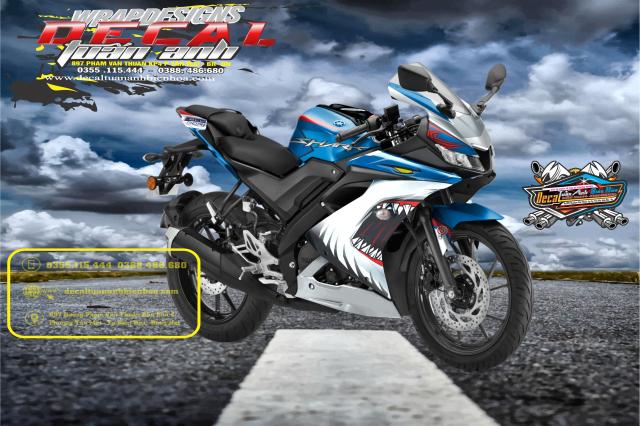 Tem Che Yamaha R15 V3 Dep Doc Tuan ANh decal WRAP Design Thi Cong Tem Xe Chuyen Nghiep - 10