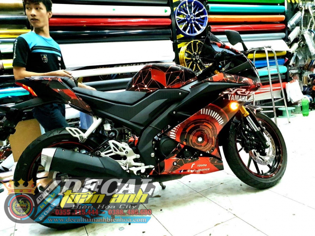 Tem Che Yamaha R15 V3 Dep Doc Tuan ANh decal WRAP Design Thi Cong Tem Xe Chuyen Nghiep - 15