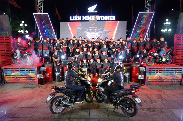 Trai long cua cac biker khi tham gia Lien Minh Winner
