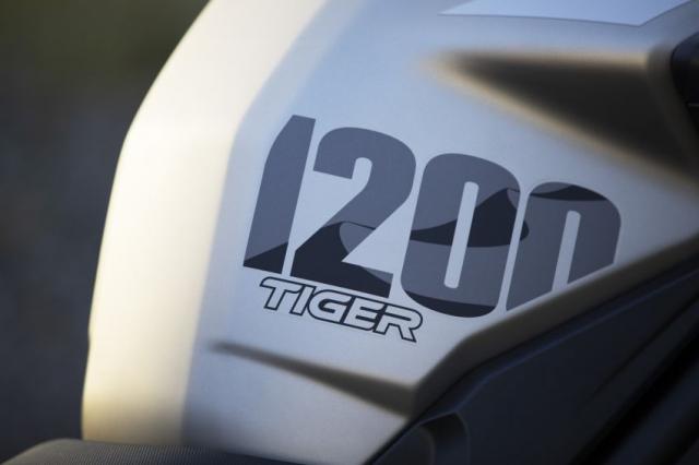 Triumph Tiger 1200 Desert 2021 va Tiger 1200 Alpine Special Edition trinh lang - 7