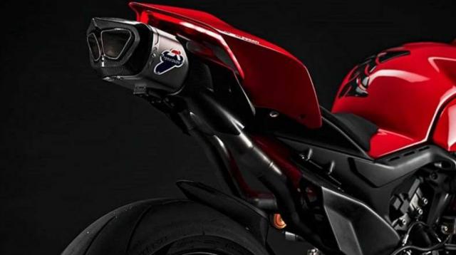 Video Ra mat ong xa Termignoni 4 Uscite 2021 danh cho Ducati Panigale V4 - 4