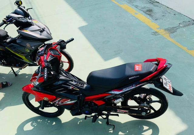 Exciter 135 bung chay trong bo canh Lc135 dep xuat sac - 3