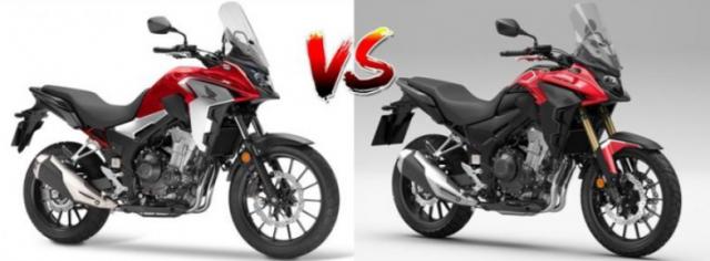 So sanh thong so Honda CB500X 2021 voi CB500X 2022